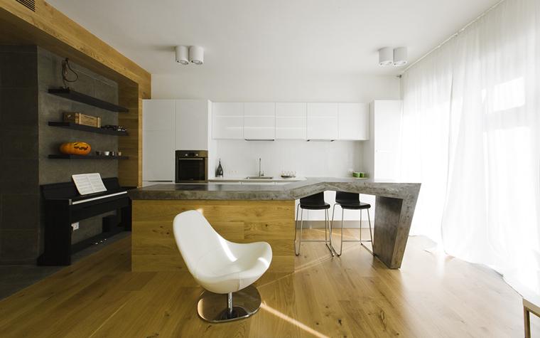 Фото № 33606 кухня  Квартира
