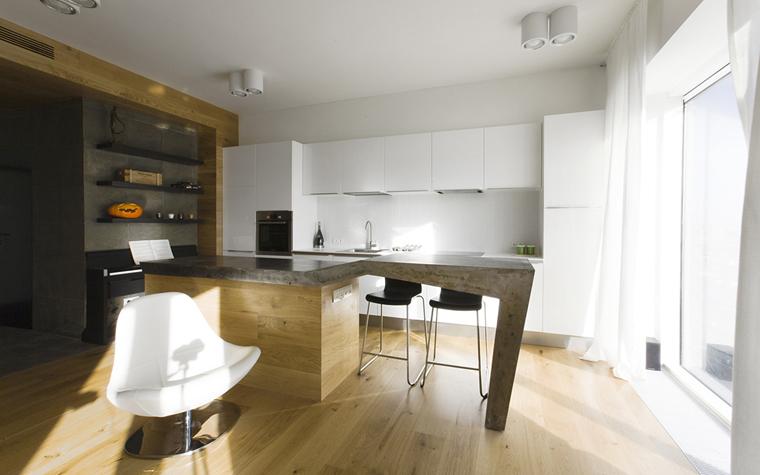 Фото № 33607 кухня  Квартира