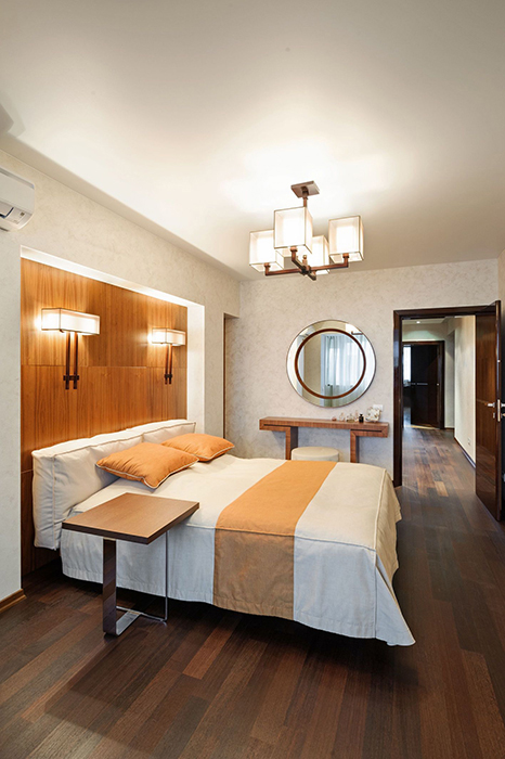 интерьер спальни - фото № 33744