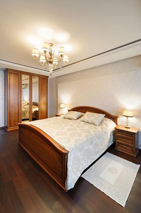 Квартира. спальня из проекта , фото №33747