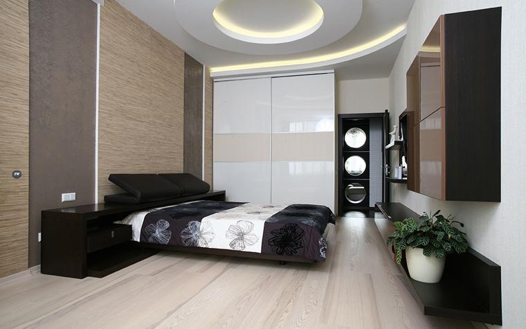 интерьер спальни - фото № 33791