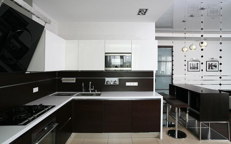 Квартира. кухня из проекта , фото №33788