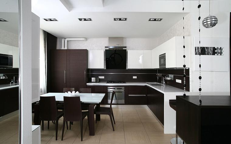 Квартира. кухня из проекта , фото №33787