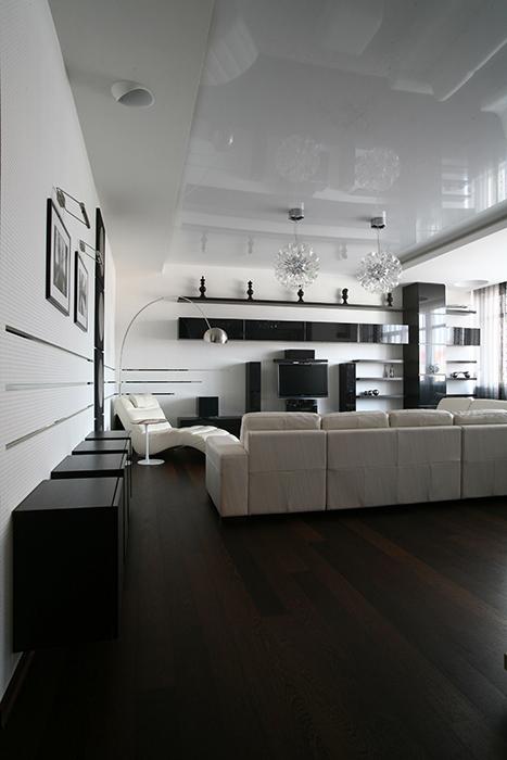 интерьер гостиной - фото № 33786