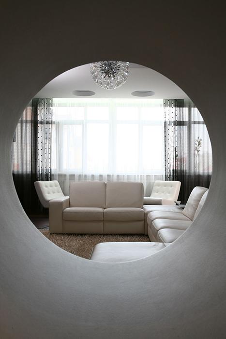 интерьер гостиной - фото № 33781