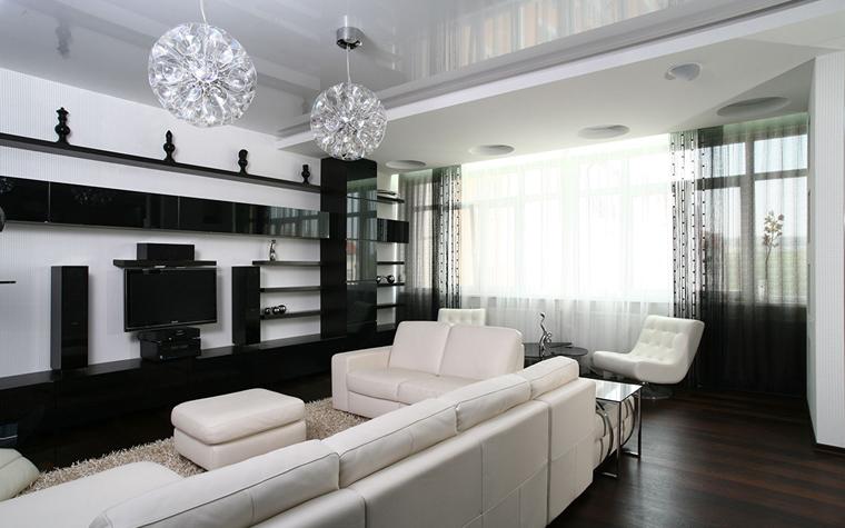 интерьер гостиной - фото № 33783