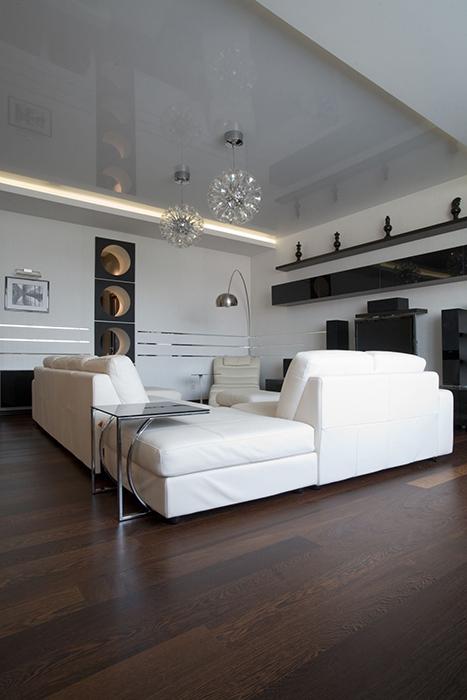 интерьер гостиной - фото № 33784