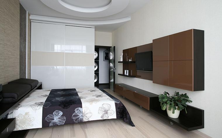 интерьер спальни - фото № 33789