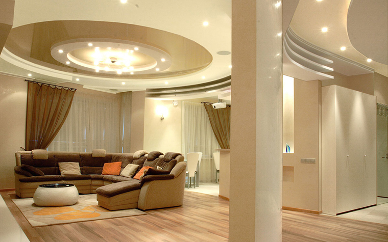 интерьер гостиной - фото № 33797