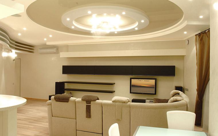 интерьер гостиной - фото № 33795