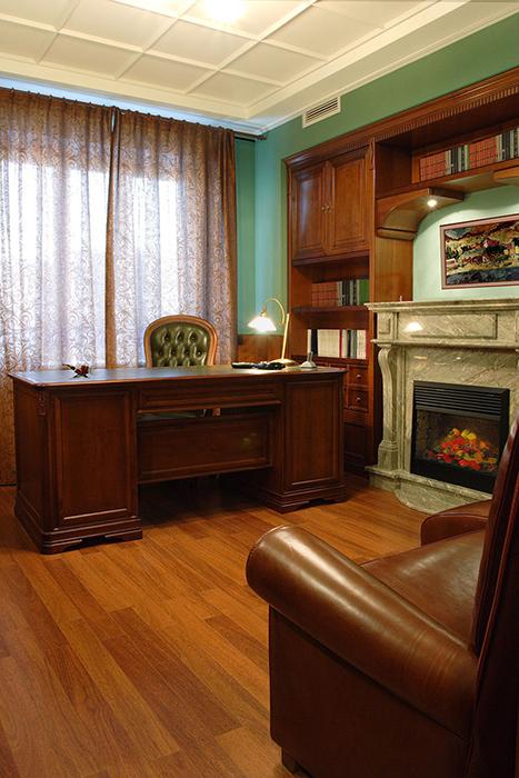 Фото № 33802 кабинет библиотека  Квартира