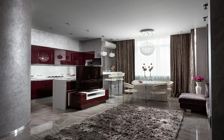 Фото № 33809 гостиная  Квартира