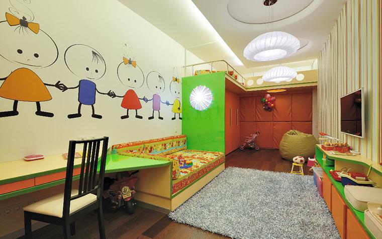 Квартира. детская из проекта , фото №33831
