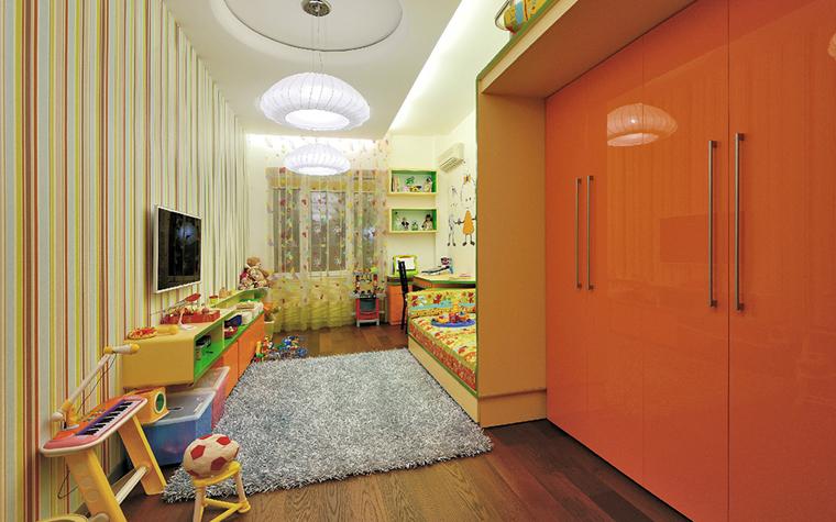 Фото № 33832 детская  Квартира