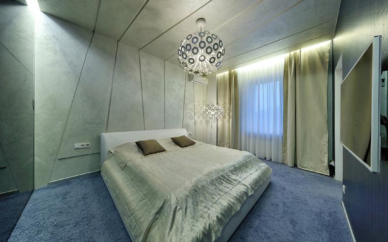 Квартира. спальня из проекта , фото №33841