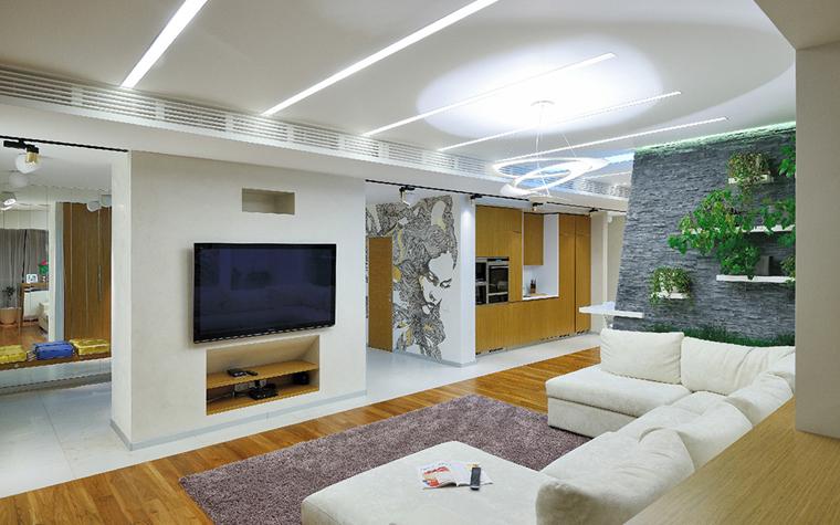 Фото № 33850 гостиная  Квартира