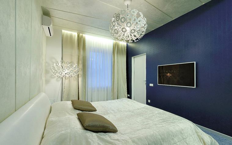 Квартира. спальня из проекта , фото №33842