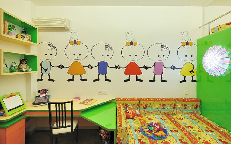 Квартира. детская из проекта , фото №33830