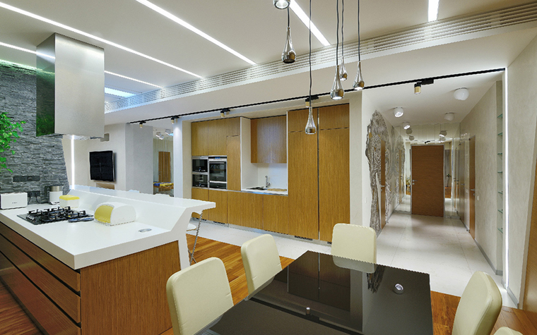 Фото № 33843 кухня  Квартира