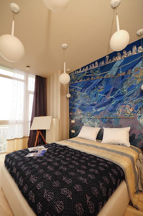 интерьер спальни - фото № 33860