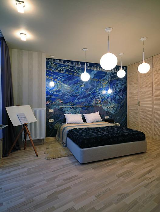 интерьер спальни - фото № 33861