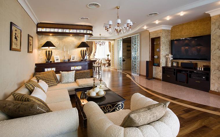 Квартира. гостиная из проекта , фото №34043