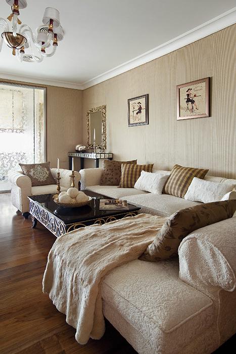Фото № 34044 гостиная  Квартира