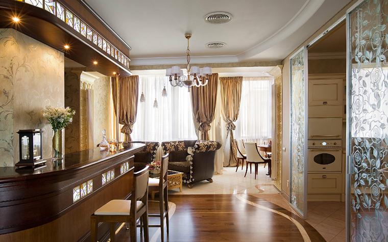 Фото № 34046 гостиная  Квартира