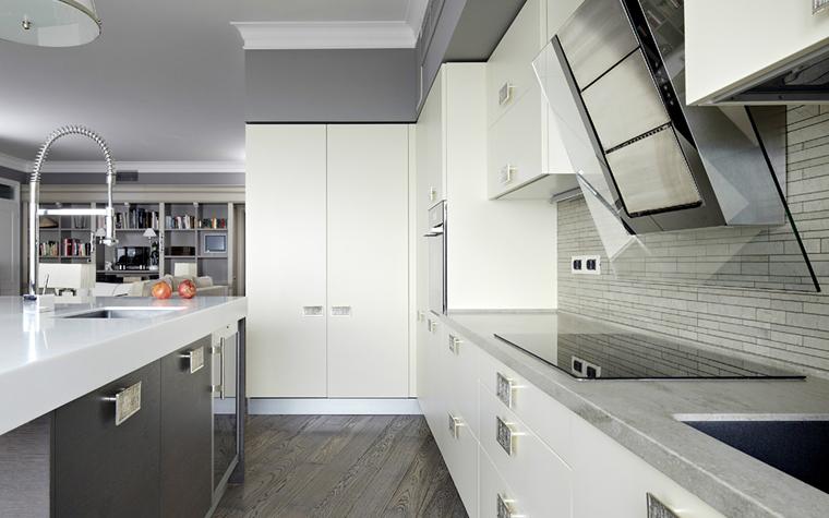 Квартира. кухня из проекта , фото №34053