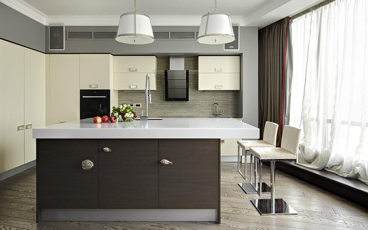 Квартира. кухня из проекта , фото №34054