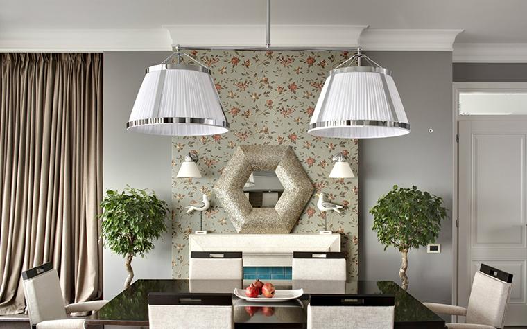 Квартира. столовая из проекта , фото №34050