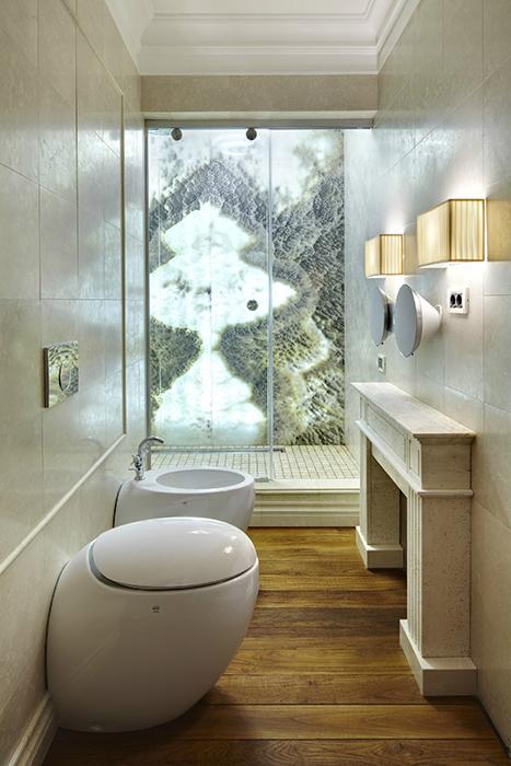 Квартира. ванная из проекта , фото №34059