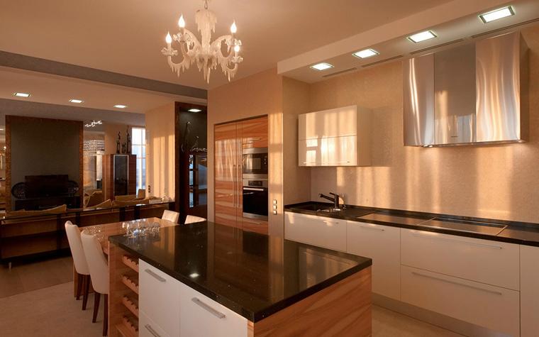 Квартира. кухня из проекта , фото №34123