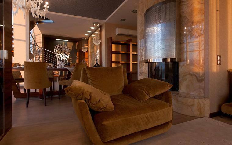 Квартира. гостиная из проекта , фото №34117
