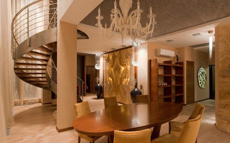 Квартира. столовая из проекта , фото №34120