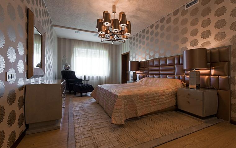 Квартира. спальня из проекта , фото №34126