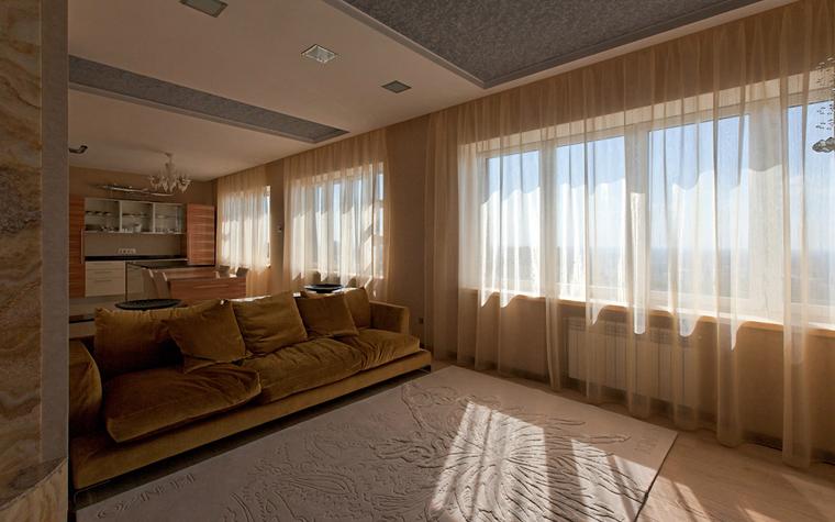 Квартира. гостиная из проекта , фото №34115