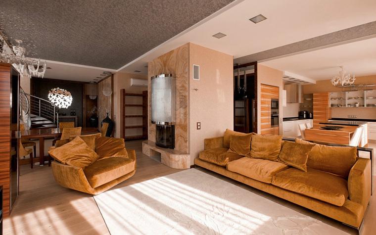 Квартира. гостиная из проекта , фото №34116