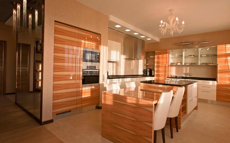 Квартира. кухня из проекта , фото №34122