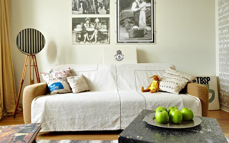 интерьер гостиной - фото № 34171
