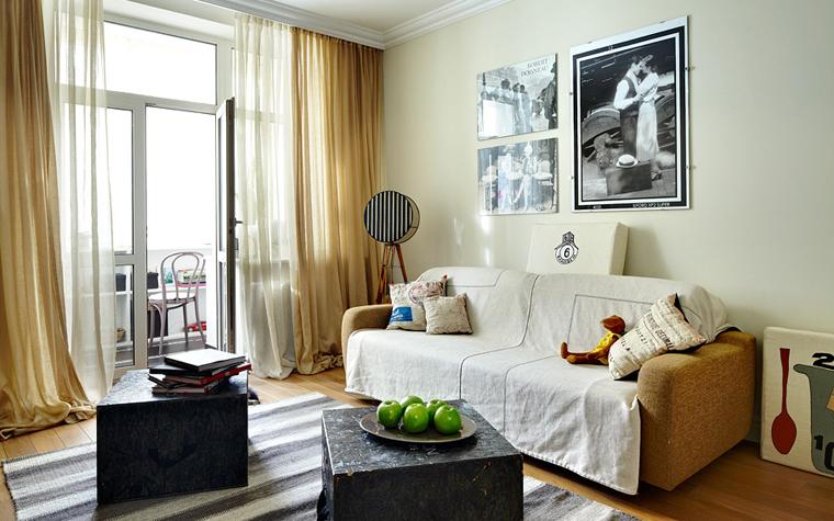 интерьер гостиной - фото № 34172