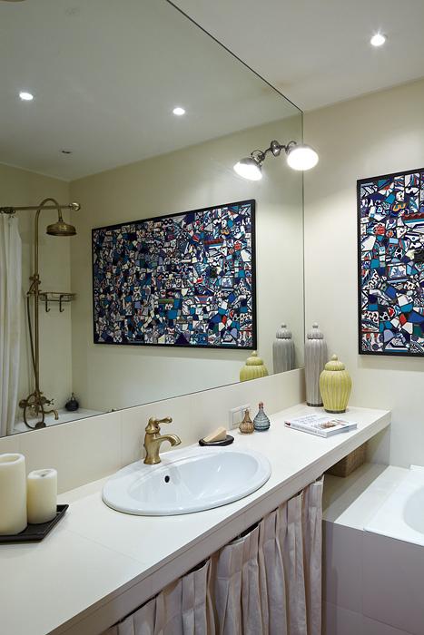Фото № 34185 ванная  Квартира