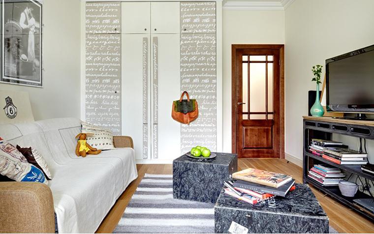 интерьер гостиной - фото № 34165