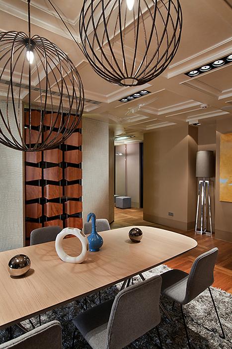 Квартира. столовая из проекта , фото №34296