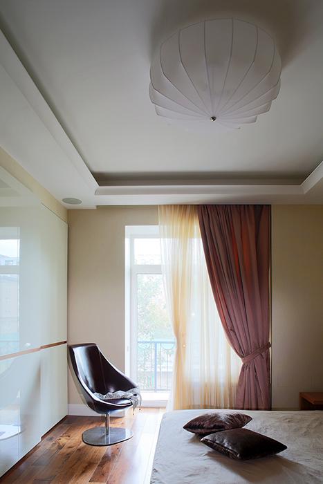 Квартира. спальня из проекта , фото №34320