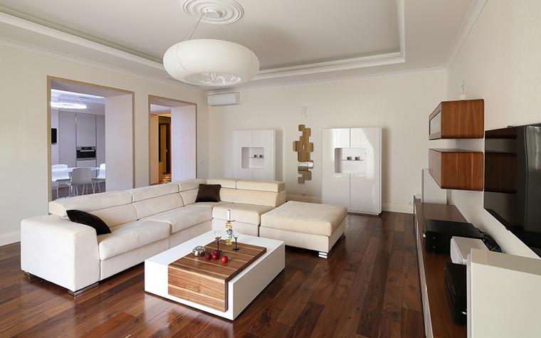 Квартира. гостиная из проекта , фото №34308