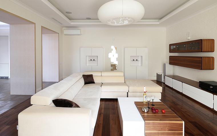Квартира. гостиная из проекта , фото №34309