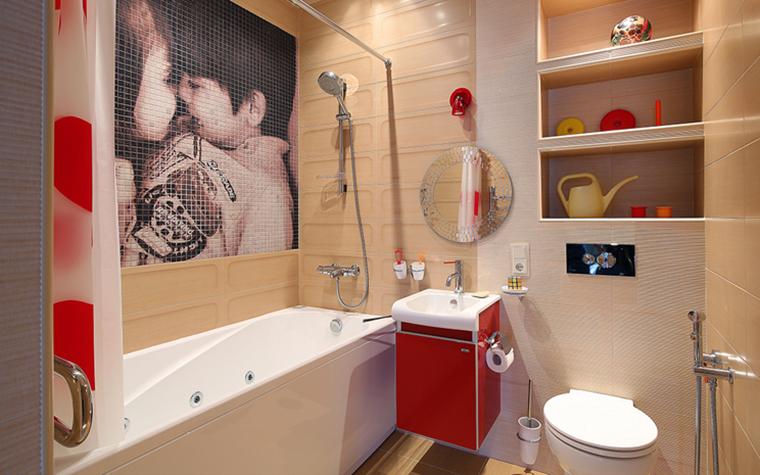 Квартира. ванная из проекта , фото №34316