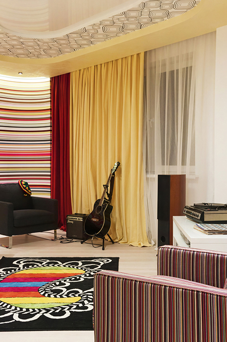 Квартира. гостиная из проекта , фото №34368