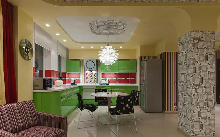 Фото № 34369 кухня  Квартира